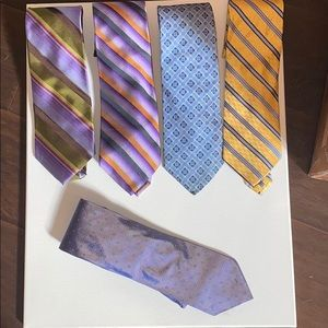 Other - Bundle of 100% silk ties!